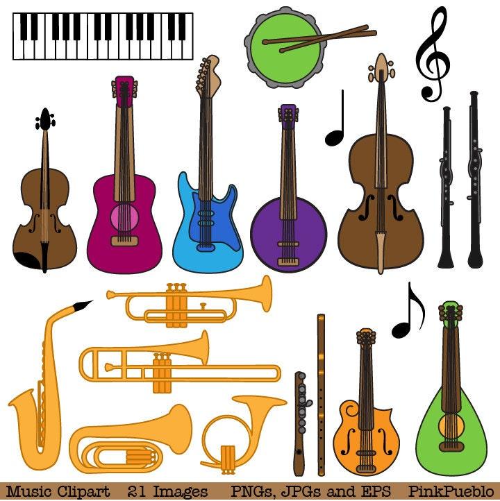 Musical Instrument Clipart Clip Art, Music Clip Art Clipart ...