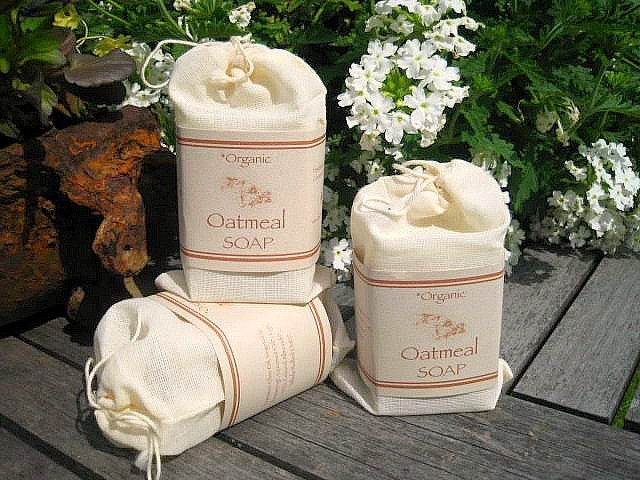 Organic Oatmeal Soap-Handmade the Old Fashioned Way