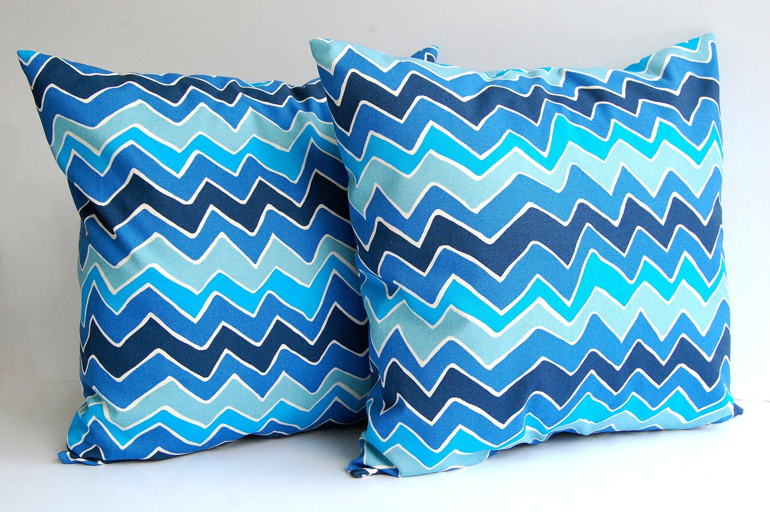 clearance blue throw pillow covers set of two by With decorative pillow sets clearance