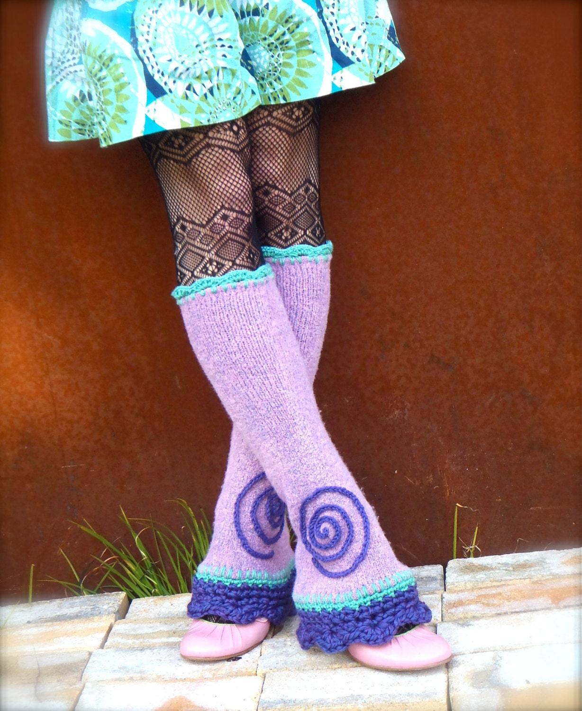 spiral leg warmers