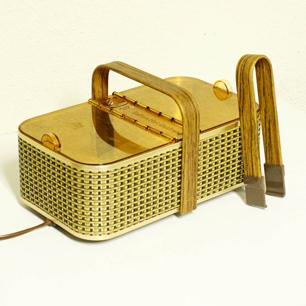 Electric Bun Warmer ~ Vintage bun warmer bread electric by oldcottonwood