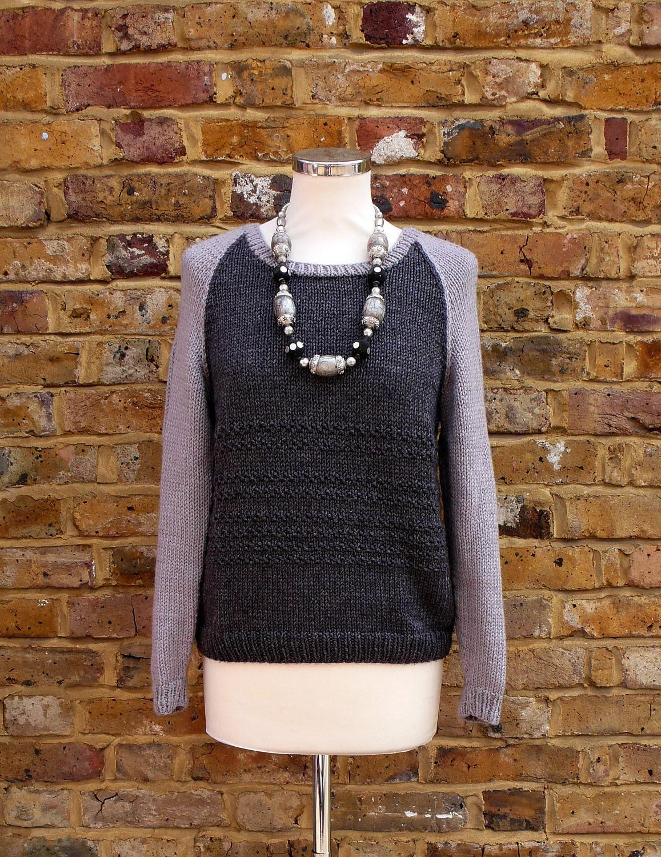 Boyfriend Jumper Knitting Pattern : Knitting pattern: The Boyfriend sweater by KnittedWonderland