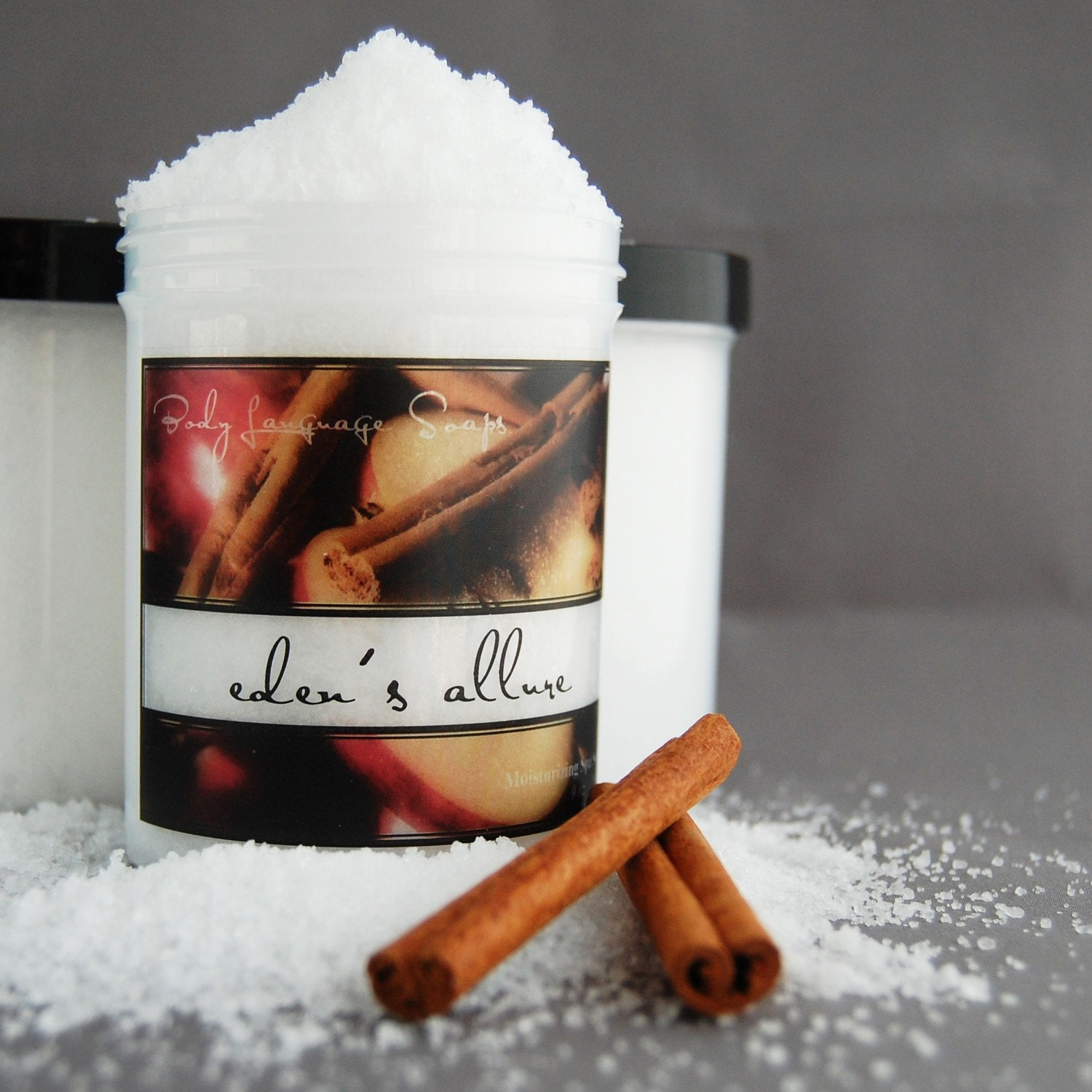 NEW Eden's Allure Spa Soak - Juicy Apples and Autumn Spices Scented Bath Salts