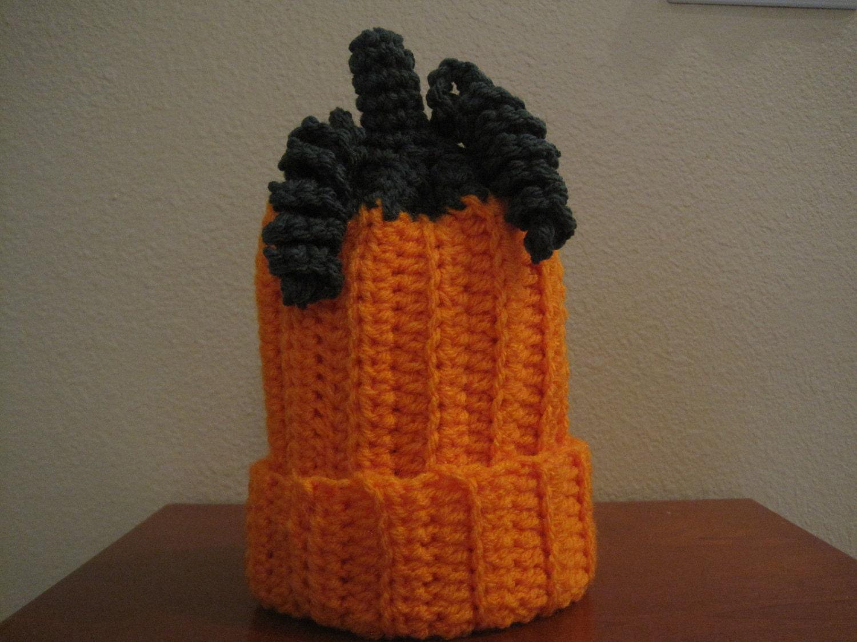 Pumpkin Baby Hat Size 0-3 Months