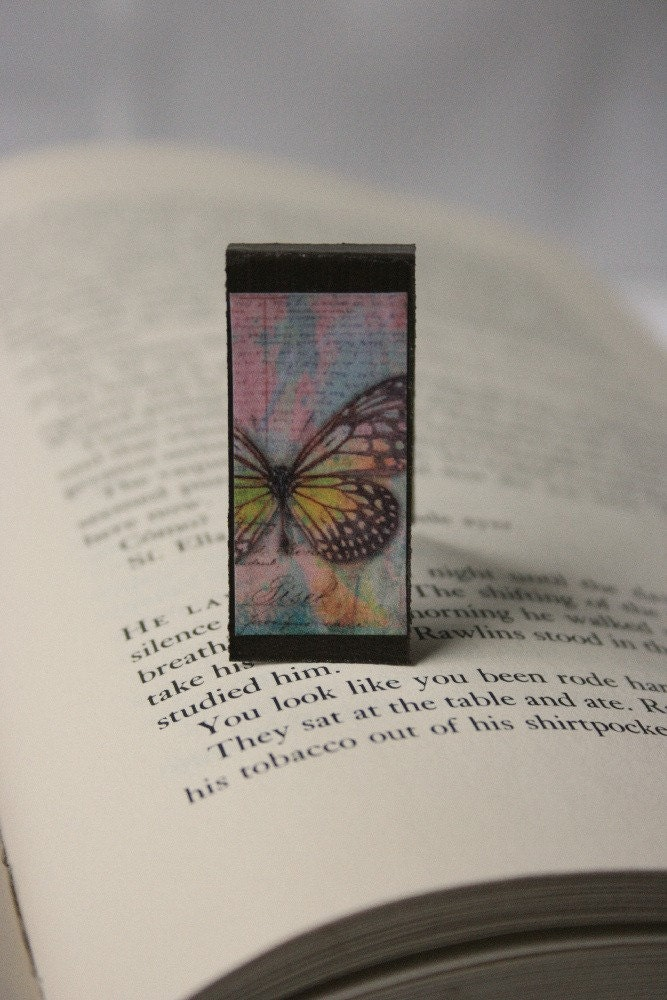 Magnetic Bookmark - Butterfly Print 5