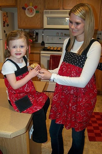 Fun Flirty Aprons for Kids too.