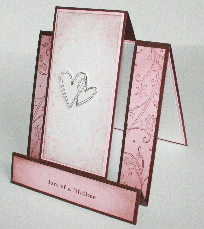 Handmade Wedding Anniversary Bridal Shower Card