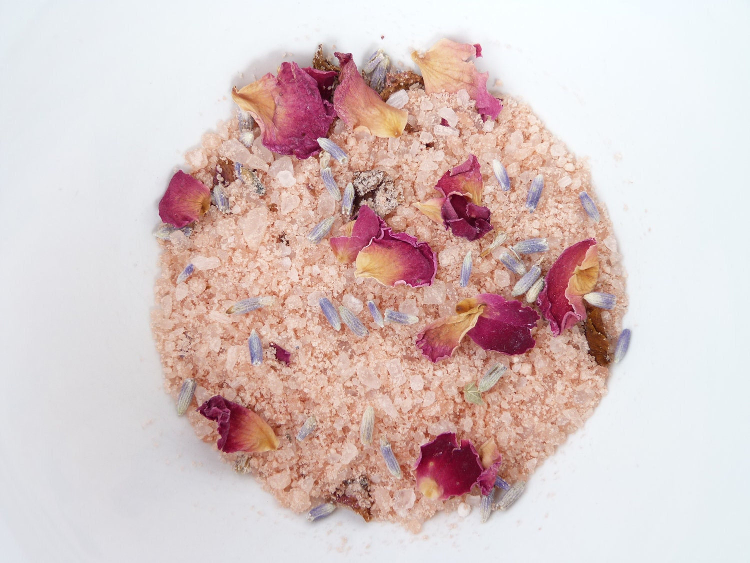 Amore Bath Salts with Dead Sea Salt and Blossoms Natural Vegan