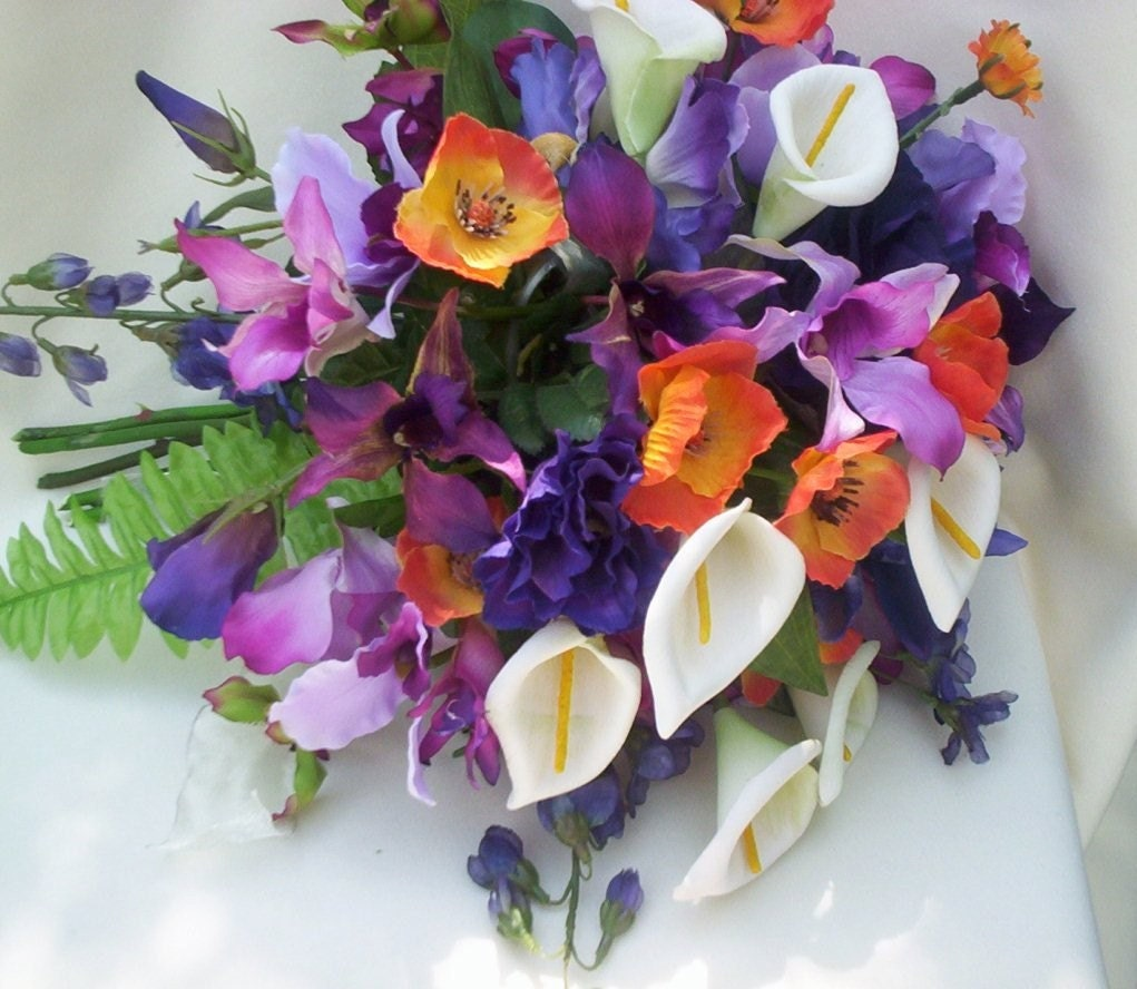 October Wedding Flowers Purple : Exotics flower india allows to feel the wonders of nature