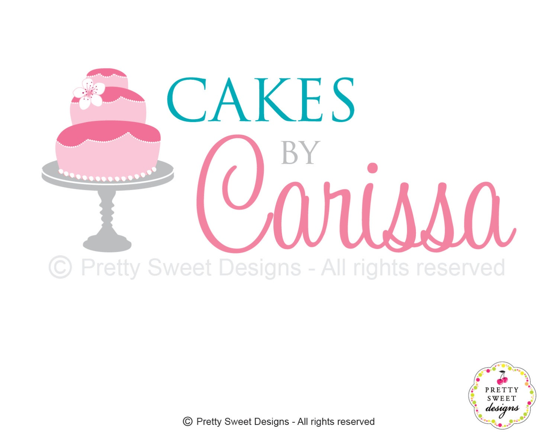 Free Logo Maker Online  Sweet Vintage Cake Logo Template