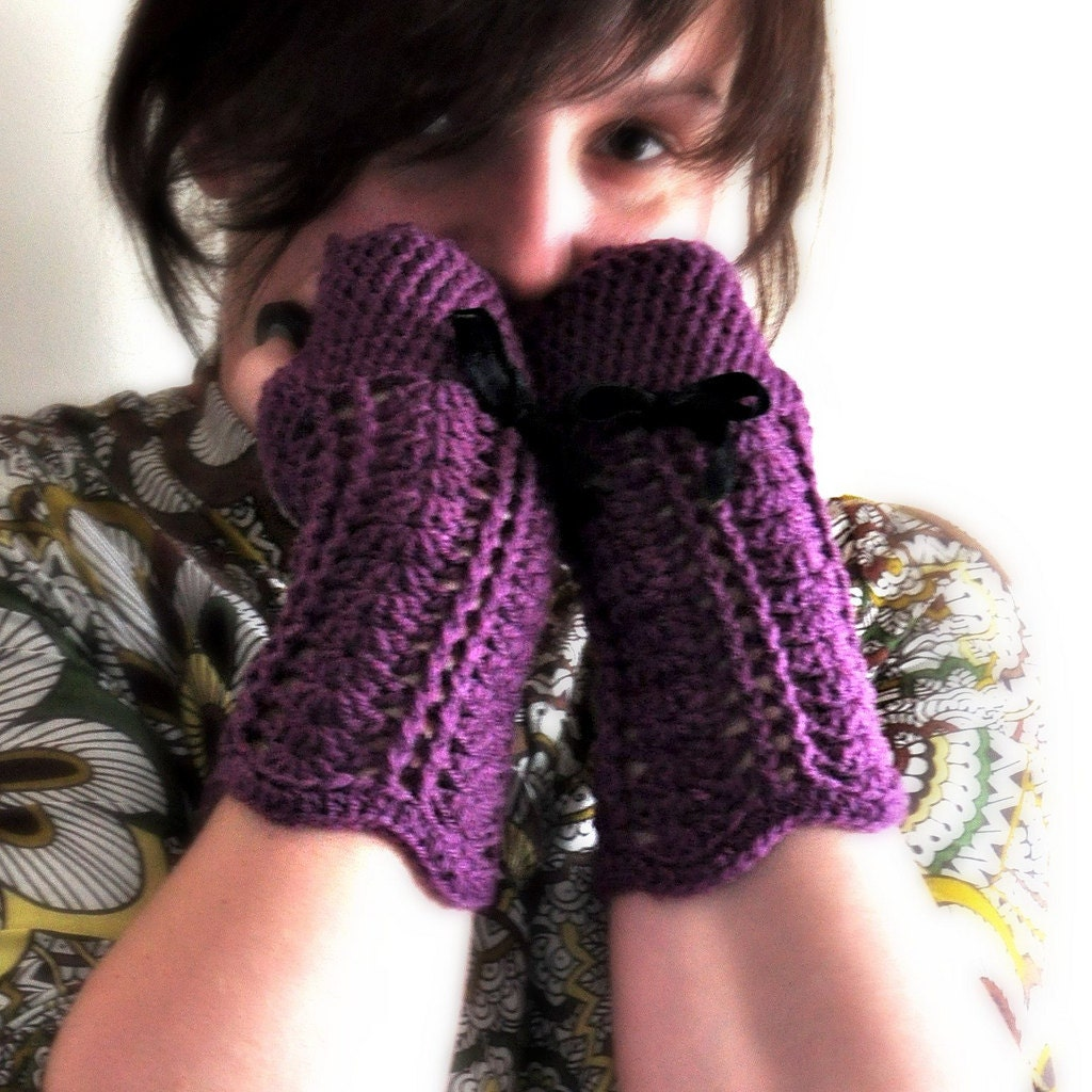 Free Crochet Pattern Ladies Mittens : FREE CROCHET GLOVES PATTERNS - FREE PATTERNS