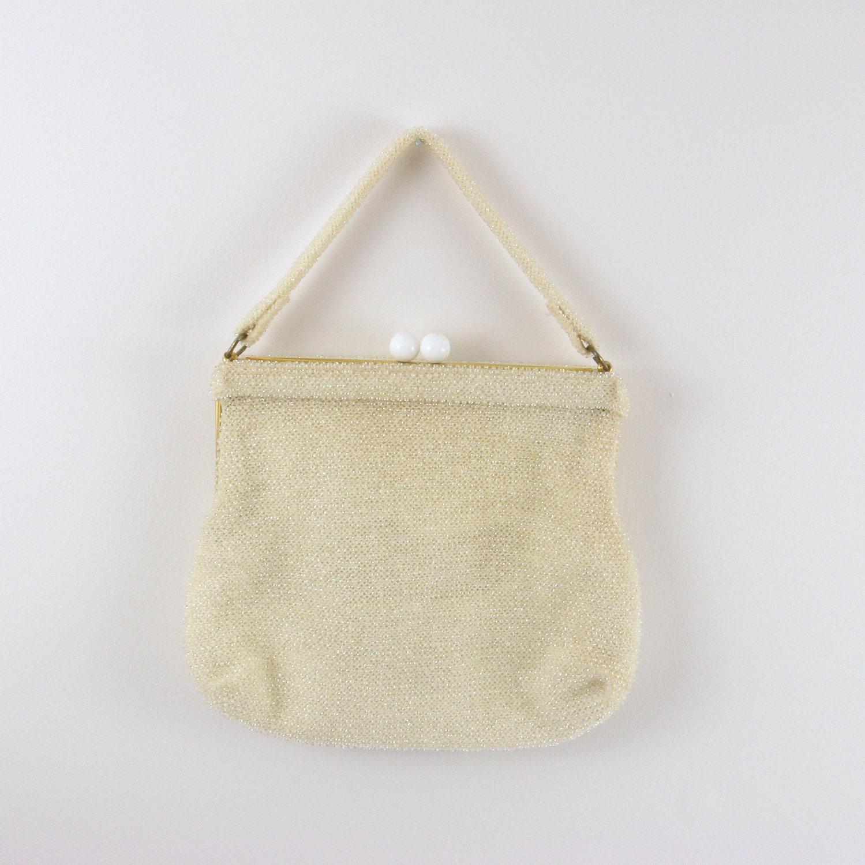 Cream Evening Bag 68
