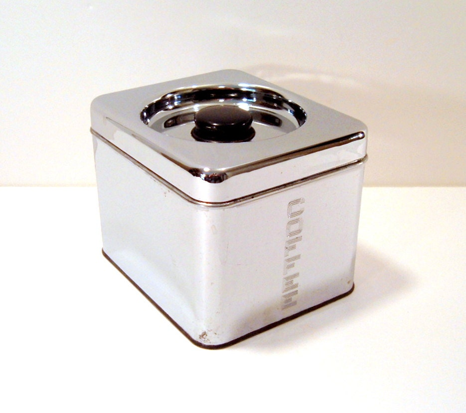 Vintage Lincoln Beautyware Kitchen Canister Retro Kitchen Decor