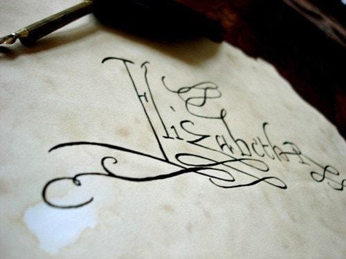 queen elizabeth 1st signature. of Queen Elizabeth Tudor I