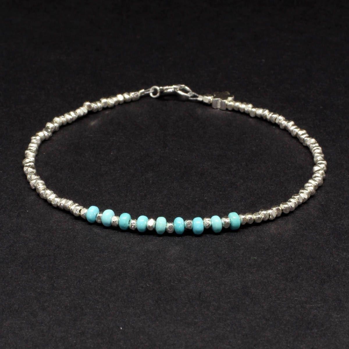 Sleeping Beauty Turquoise braceletTurquoise braceletBlue braceletTurquoiseSleeping BeautyDecember birthstoneKaren Hill Tribe Silver