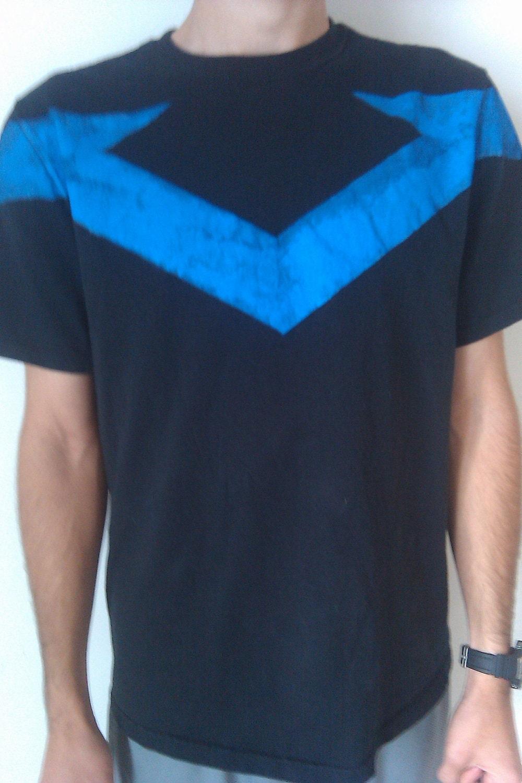nightwing shirt tshirt by vyledesigns on etsy
