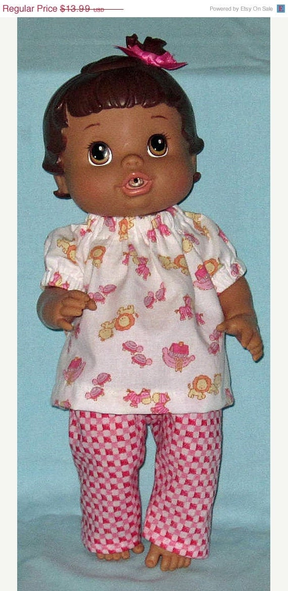 ON SALE Baby Alive Corolle Tidoo Doll Clothes by Dakocreations