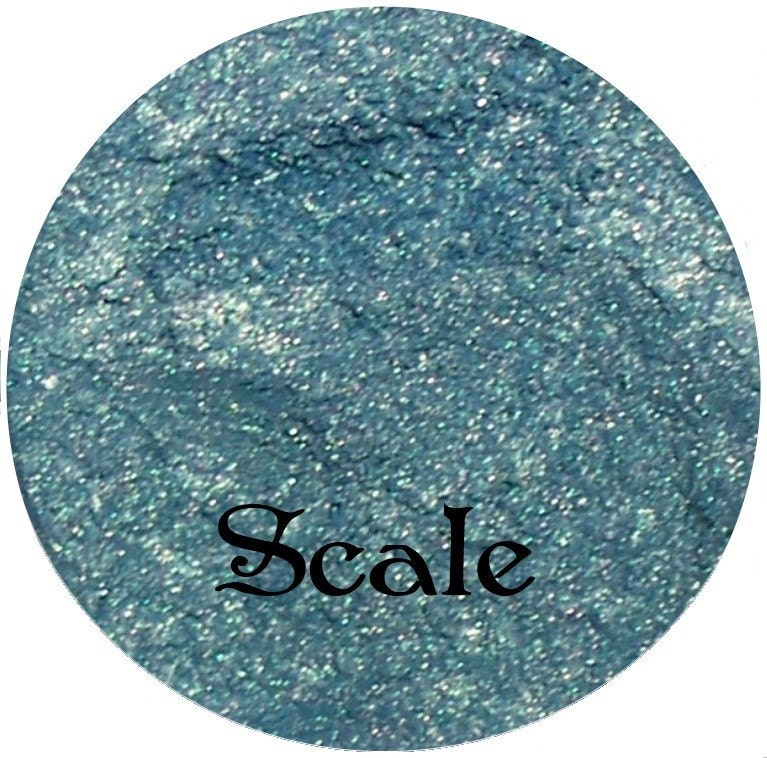 SCALE Blue Green DUO Effects Mineral Eyeshadow Pigment