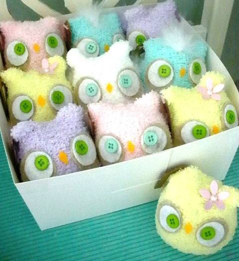 items similar to baby shower favors set of 10 owls on etsy