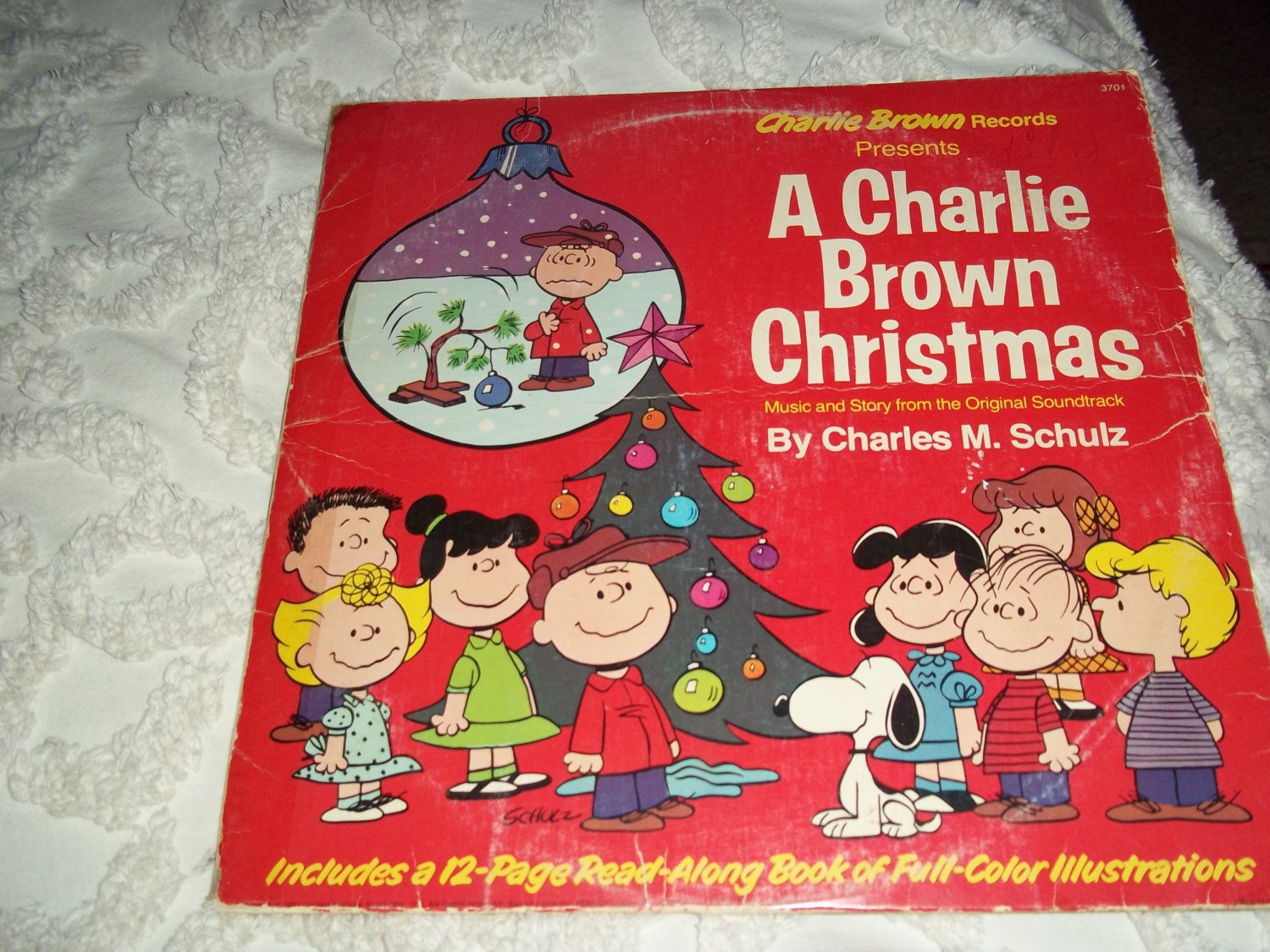 1971 a charlie brown christmas record album amp 12 page read a long book