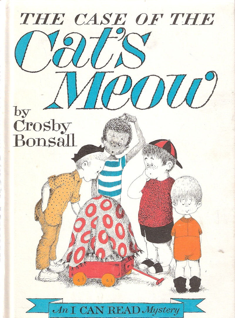 The Case of the Cat's Meow by Crosby Bonsall 1965 - enchantedbookroom