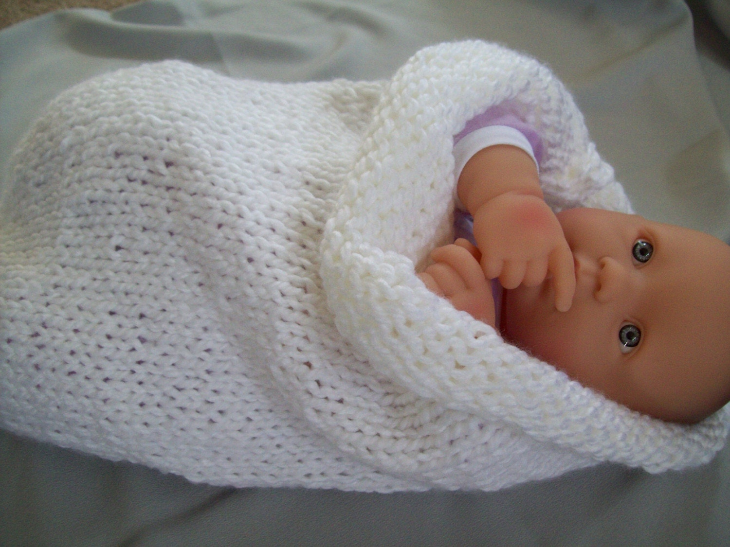 Free Baby Knitting Patterns : KNITTED BABY BUNTING PATTERNS   Free Patterns
