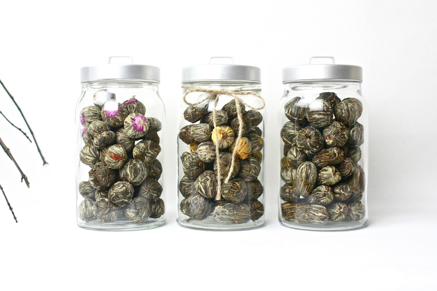 20pcs of Exotic Blooming Tea Flowering Jasmine Tea - any choices - Acupofafternoontea