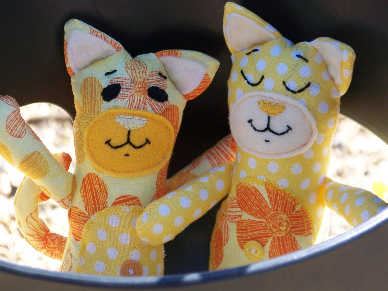 Jonathan and Jarius Snuggle Kitties