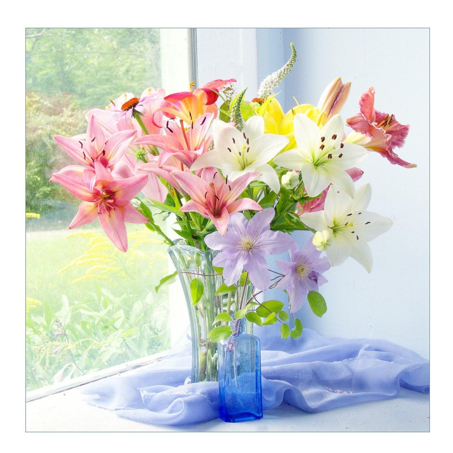 A bouquet of Lilies, Fine Art Photograph