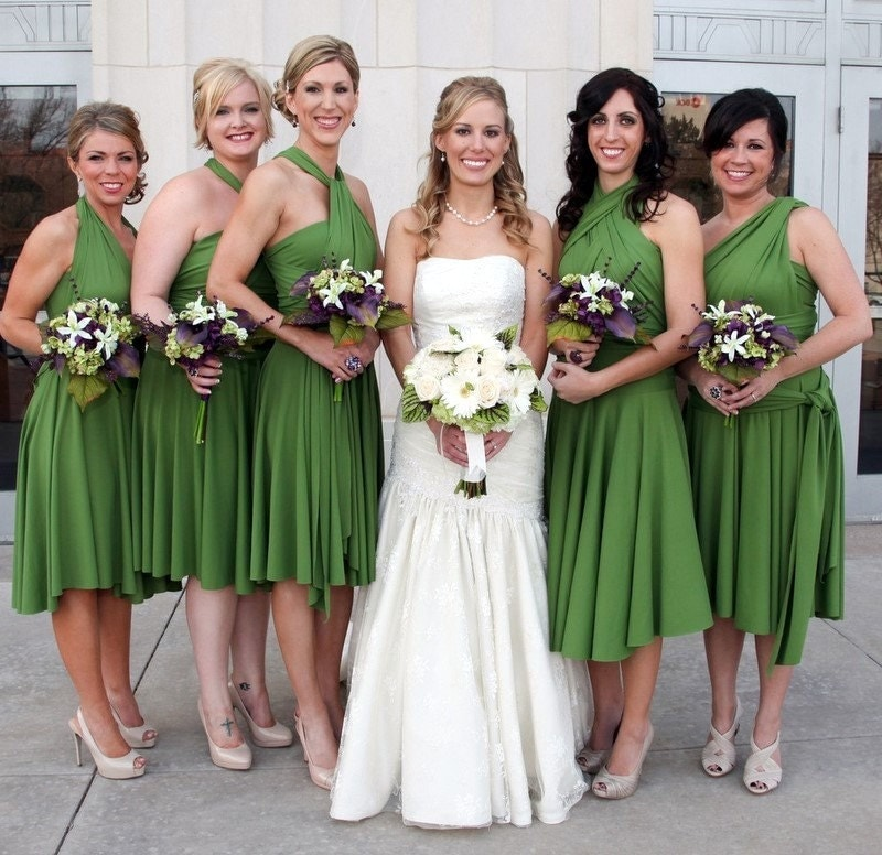 My Favorite Infinity Dress for your bridesmaids in any color you can imagine