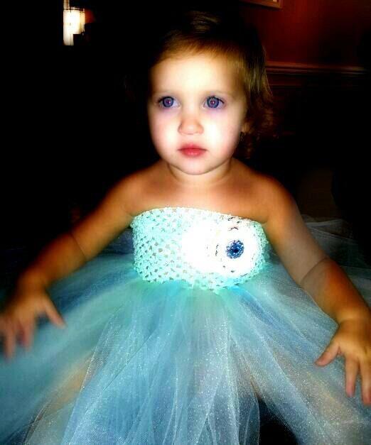 Mint & Aqua tutu dress