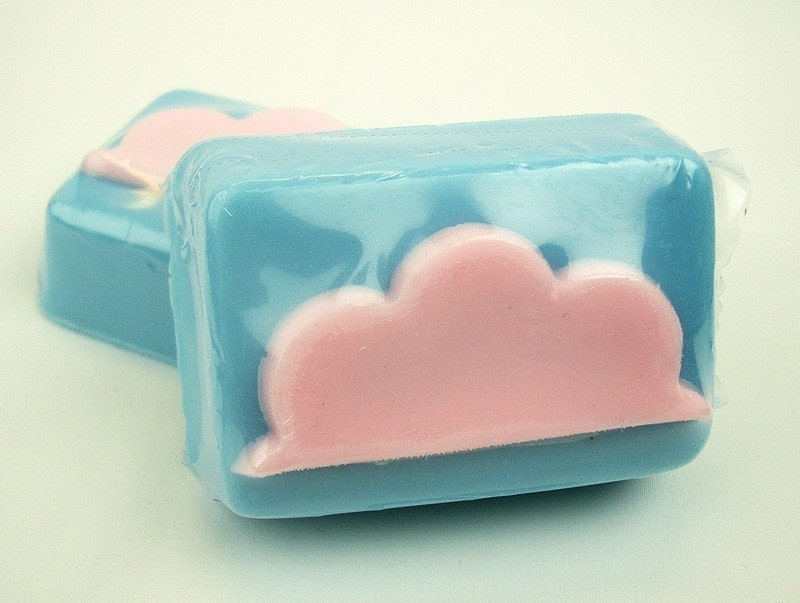 Cotton Candy Clouds - Goat's Milk Soap Bar