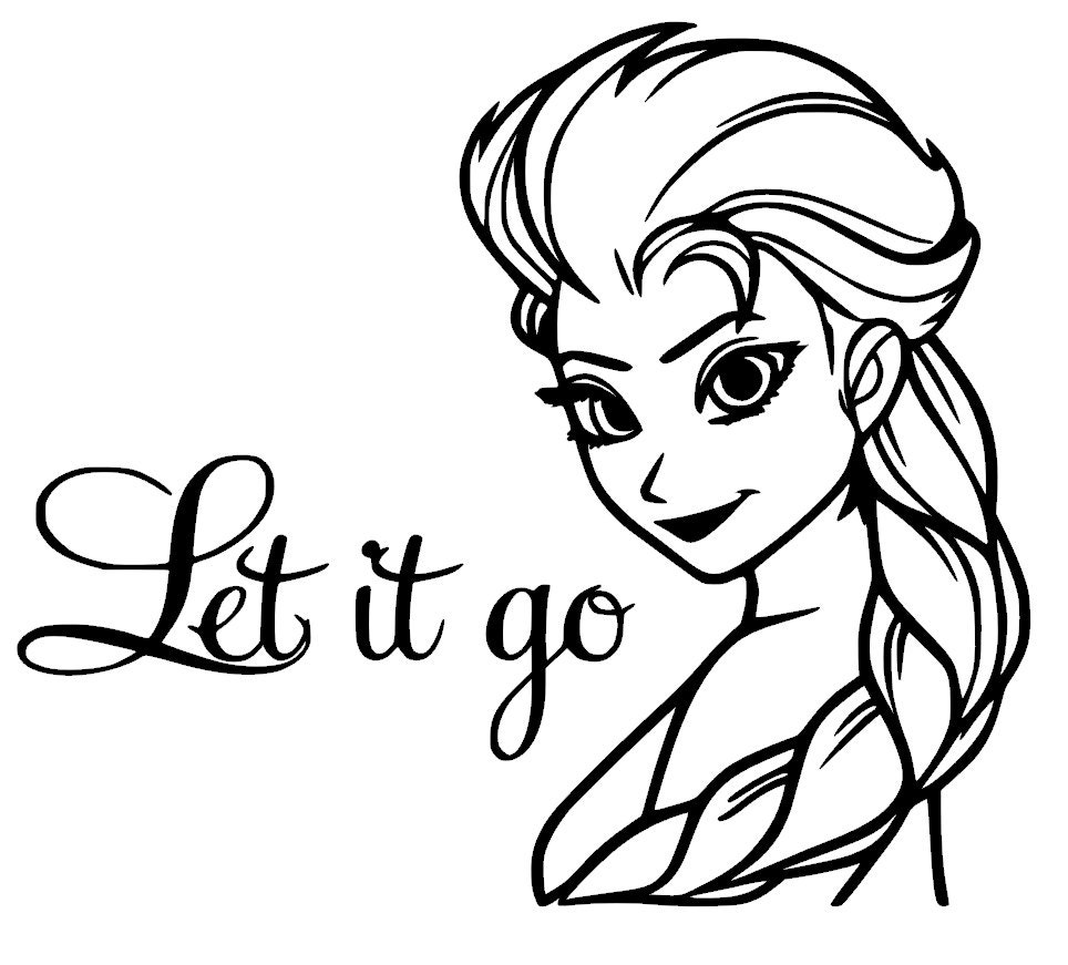 Let It Go Coloring Castle Coloring
