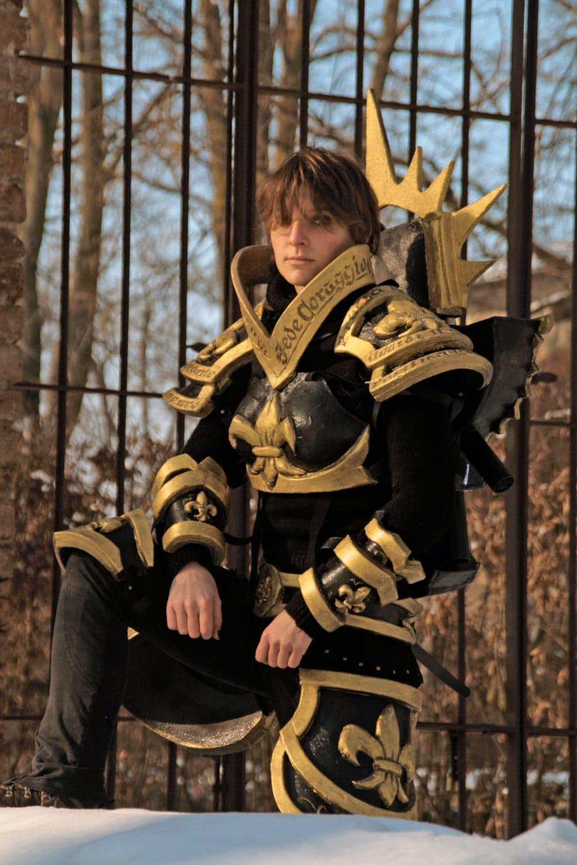 MADE TO ORDER - Warhammer 40k armor suit Sisters of Battle Adepta Sororitas fantasy battle cosplay larp - ChimericalDragonfly