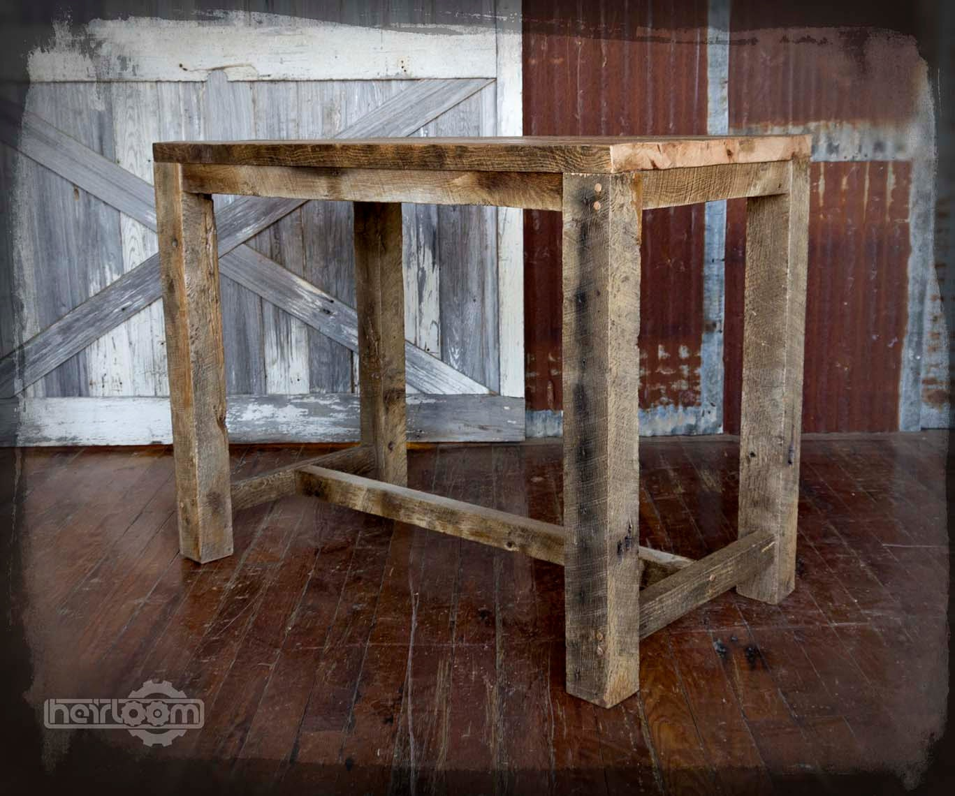 Etsy your place to buy and sell all things handmade vintage and supplies - Kitchen table reclaimed wood ...