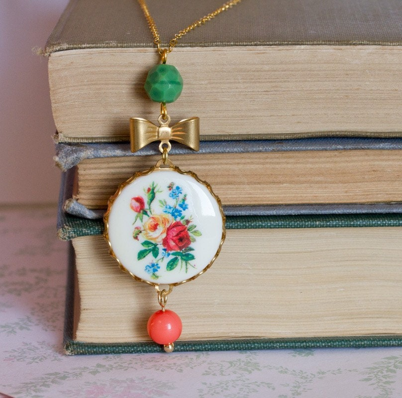 GOLDFILLED- Garden Necklace