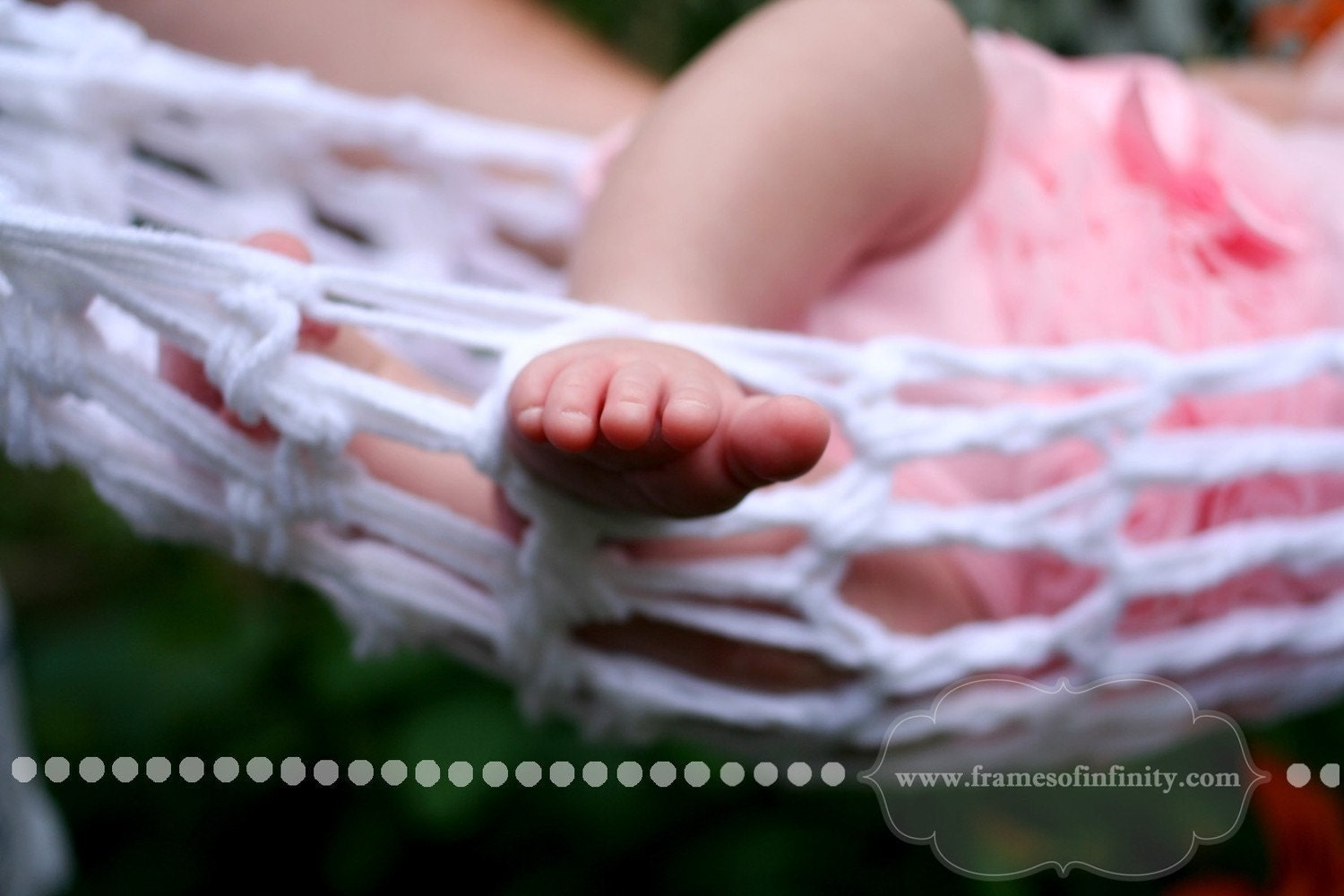 Crochet Baby Hammock Photo Prop Pattern - Crochetville
