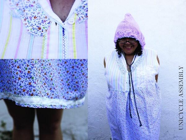 2XL Putnam-Plus Size Clothes /Womens Dresses/Eco Dress / Tattered