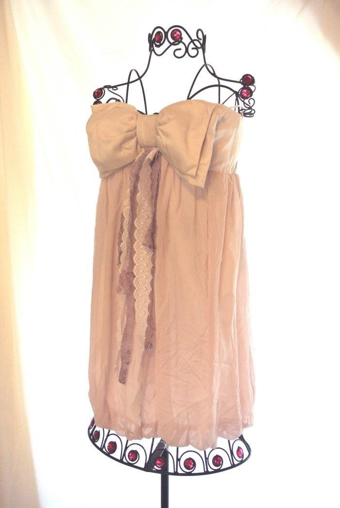 Романтический лук Сирень туника топ, весной пасхальные пузырь платье, французский стране, Париж пузырь сверху, потертый шик, бахромой рубашкой