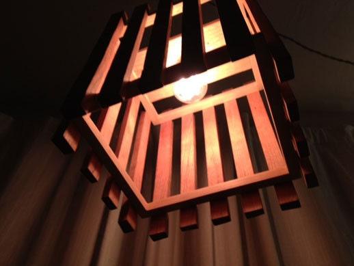 La lámpara del listón