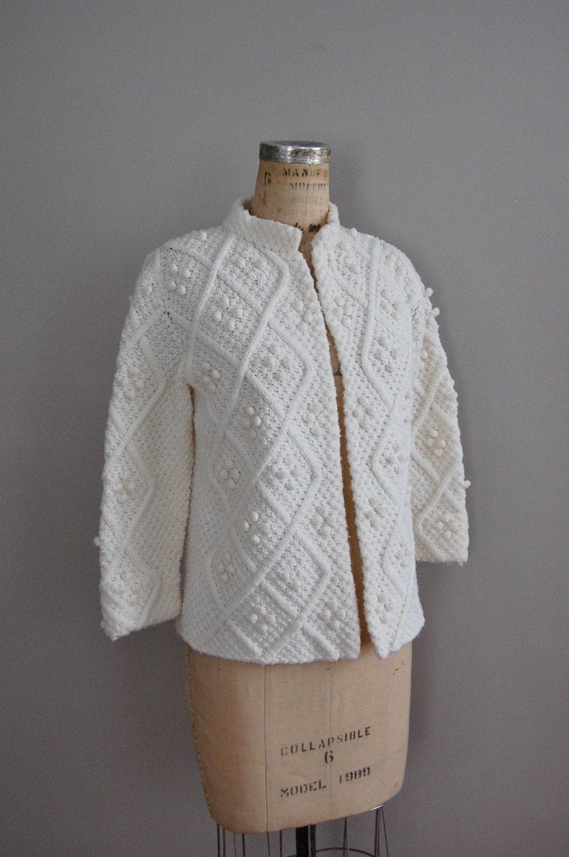 vintage 1960s SNOWDEN knit cardigan