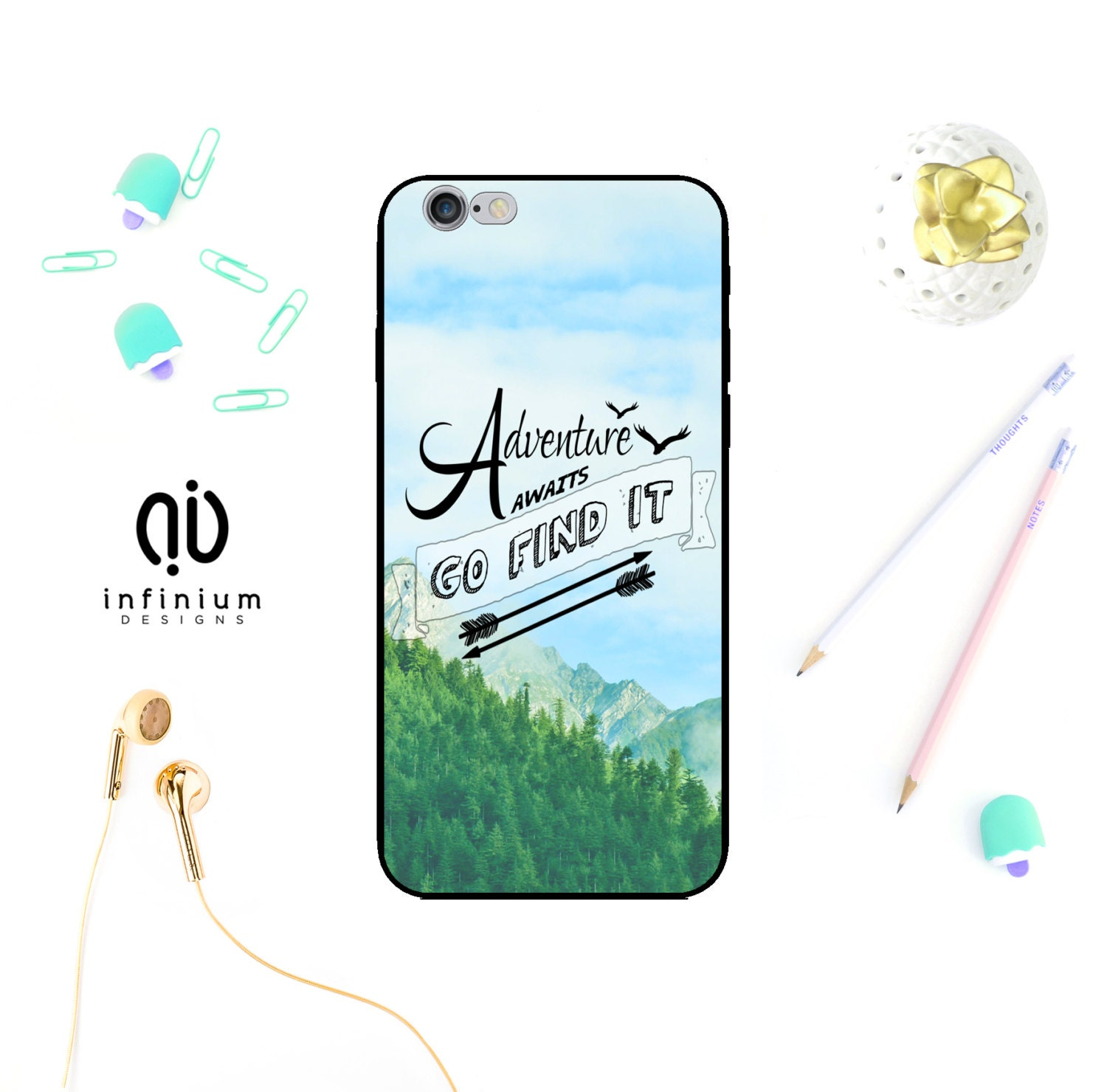 Adventure Case For iPhone 7 Samsung S8 S8 Edge S7 S7 Edge J3 J5 A5 Galaxy A3 Core Prime 7 Plus iPhone  6S SE 5S  iPod Touch 6