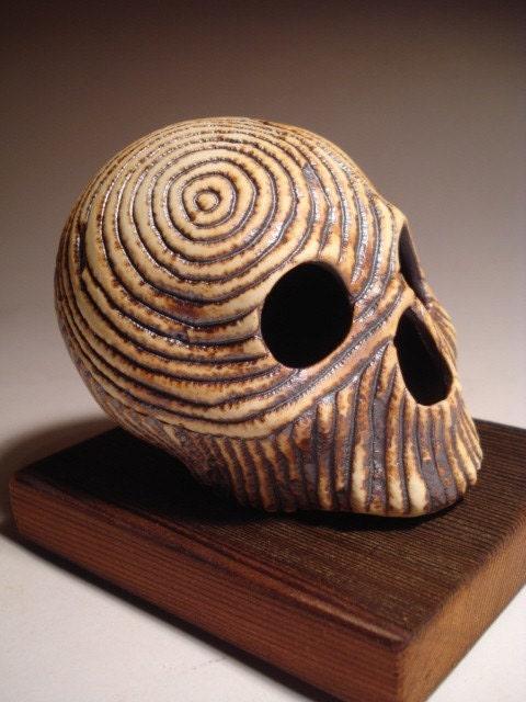 Two Targets Skull