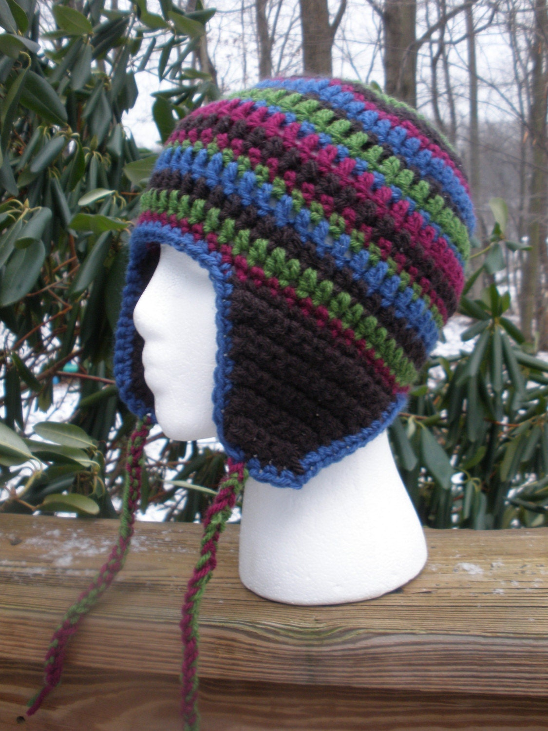 One Skein Crocheted Hat Pattern - Crafts - free, easy, homemade