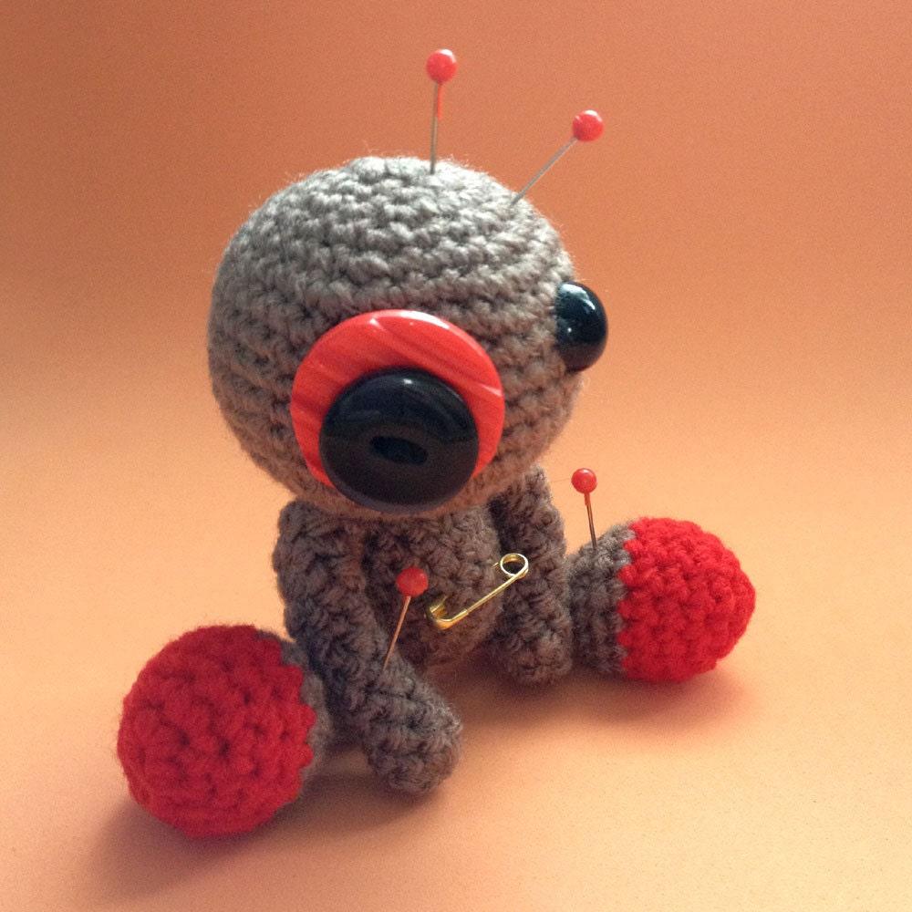 Amigurumi Voodoo Doll : Sam the Amigurumi Brown Voodoo Doll by cutedesigns on Etsy