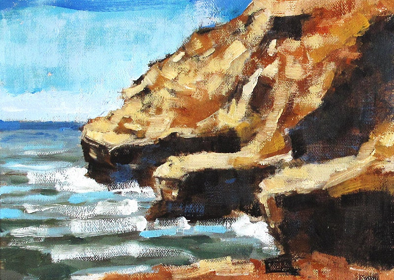 San Diego Seascape Painting