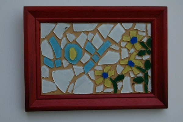 Joy -  a faux mosaic