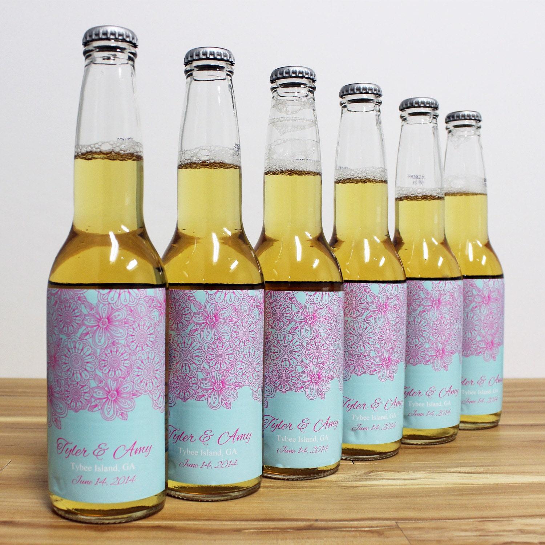 Custom Beer Bottle Labels Personalized Wedding By: Items Similar To Custom Beer Bottle Labels Personalized