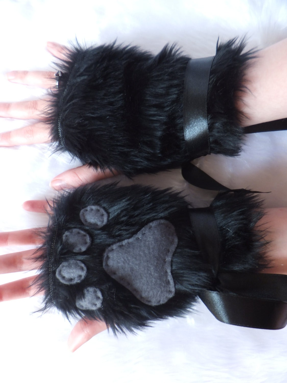 Black wolf furry - photo#11