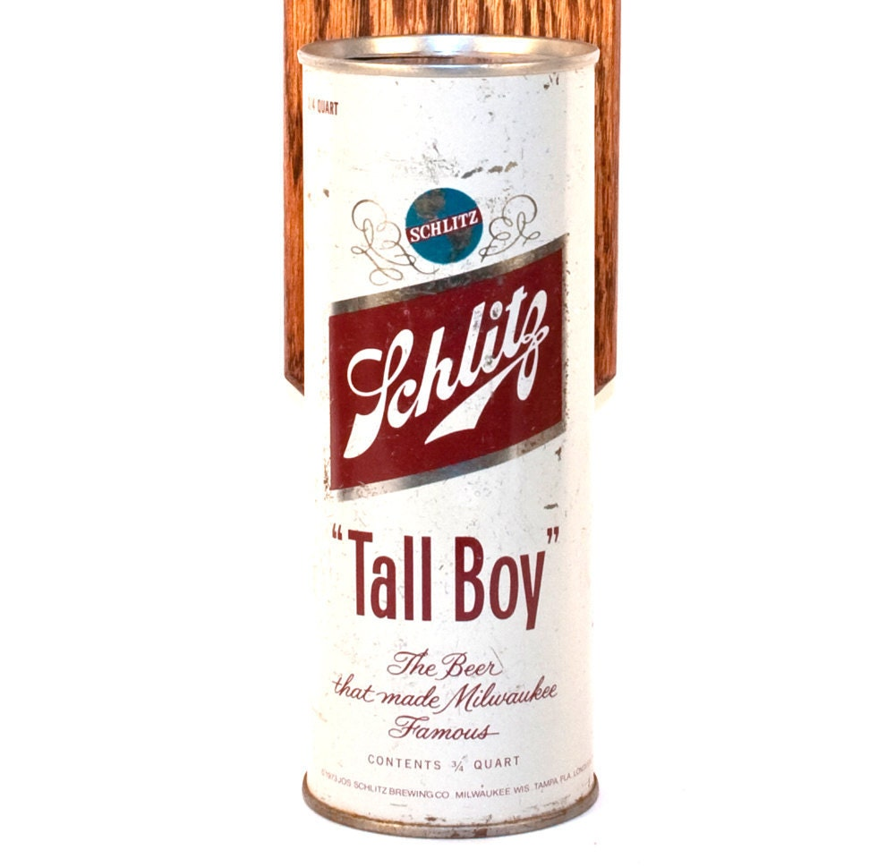 Schlitz Tall Boy Wall Mounted Bottle Opener With By Handysam